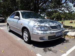 2001 Nissan Pulsar Q Sedan Victoria Park Victoria Park Area Preview