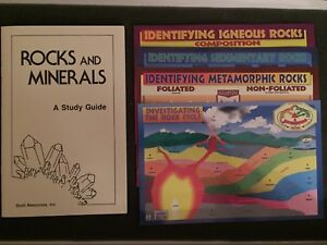 Earth science rock & mineral collection