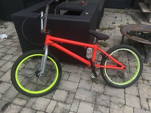 Hutch BMX with custom chain, seat, handlebars and grips