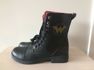 Teen Wonder Woman Boots - NEVER WORN!