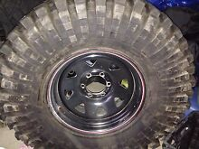 For sale 37 inch maxxis trepador wheels and tyres Kellyville The Hills District Preview