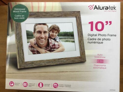 Aluratek Digital Photo Frame ADPFD10F  10 inch