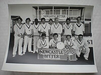 An Old Real Photo Of SHROPSHIRE CRICKET LEAGUE & Their Trophies