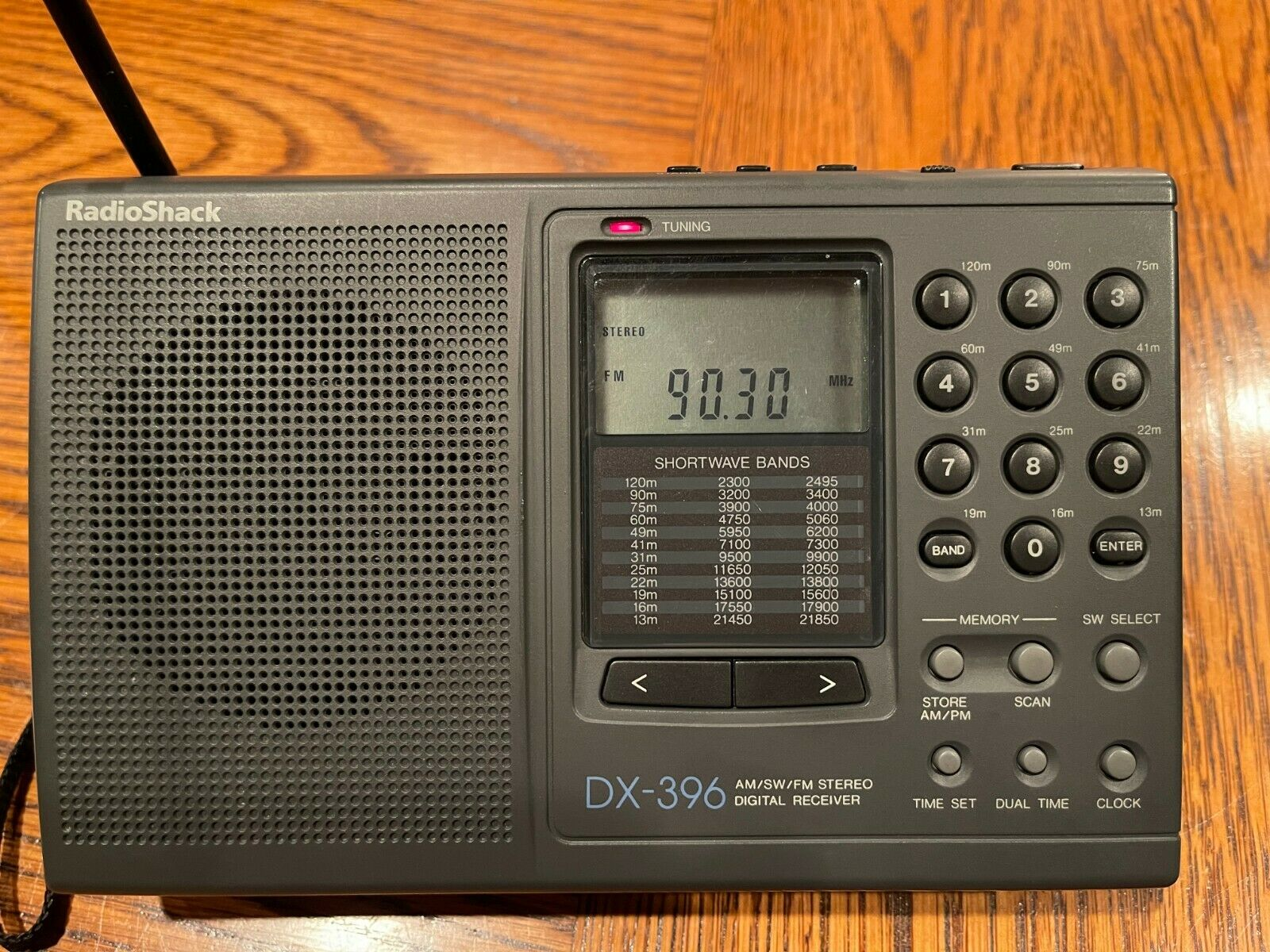 radio shack dx 396 shortwave radio in