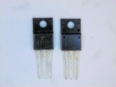 2sk2717 Original Toshiba Fet Transistor 2 Pcs