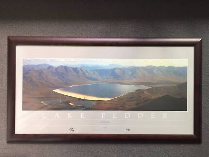 Framed Lake Pedder Print - Limited Edition - Signed by Bob Brown