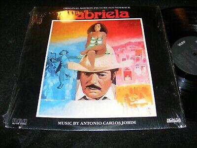 GABRIELA Soundtrack Lp Antonio Carlos Jobim GAL COSTA 1983 In Shrinkwrap RCA comprar usado  Enviando para Brazil