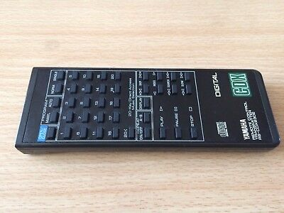 Yamaha Remote Control RS-CDX630E for CD Player - Free P&P