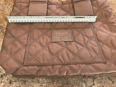 (NEW Marc Jacobs Small Diamond Quilted Tote Bag