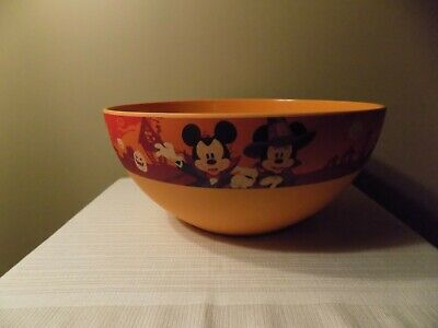 Disney Halloween Party Mickey Mouse Eco Bamboo Large Big Candy Punch Bowl