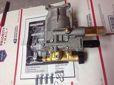 New Horizontal Pressure Washer Pump 3000 Psi 34 Side Shaft Engine Honda Briggs