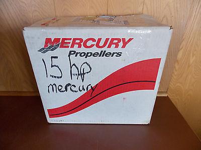 NEW Mercury Propeller (Boat Motor Prop) B  9.75 x 6.5P  Black Max (15HP ?)