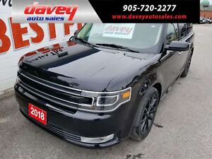 2018 Ford Flex Limited ALL WHEEL DRIVE, SUNROOF, NAVIGATION,...