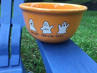 Ellen Show - Halloween bowl - Love, Dance, Boo