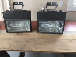400w flood lights in metal case with brackets