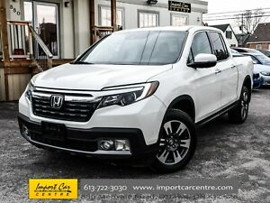 2017 Honda Ridgeline Touring PERF.LEATHER VENTILATED SEATS BLIS