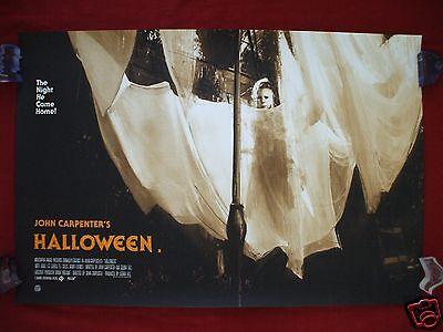 HALLOWEEN MONDO ORIGINAL MOVIE POSTER JOCK ART PRINT QUAD VARIANT MICHAEL - Halloween Jocks