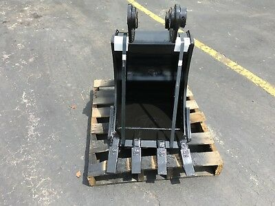 New 18 Heavy Duty Excavator Bucket For A Hyundai R55w-9 W Coupler Pins