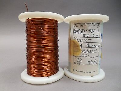 Magnet Wire 22 Gauge Awg Enameled Copper 1000 Feet Coil Winding 2lbs