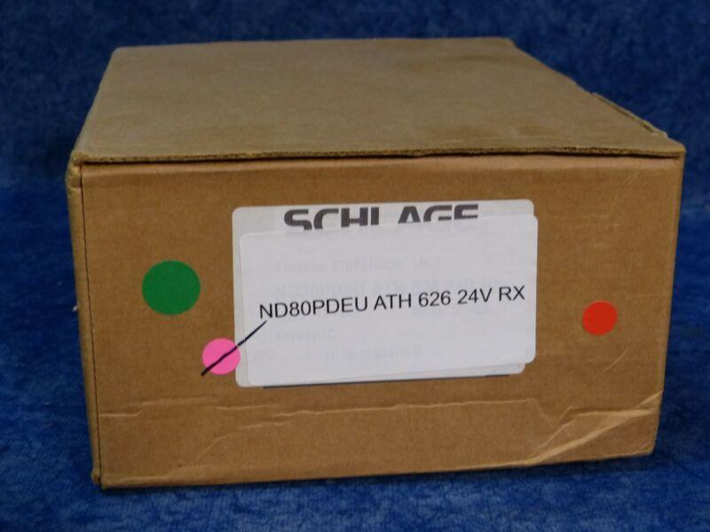 Schlage ND80PDEU ATH 626 24V RX Stormroom lock w Cylinder