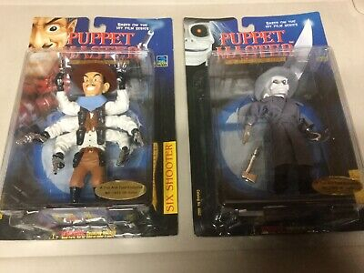 Full moon toys 1998 Puppet master Lot of 2 troll and toad Exclusive blade,six sh](Puppet Master Blade)