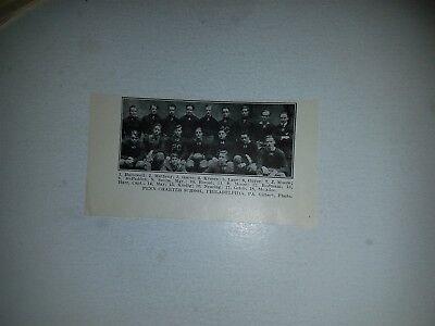 Penn Charter School Phialdelphia Pa  1913 Football Team Picture Rare
