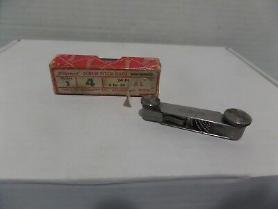 Starrett Screw Pitch Gage Edp 50033