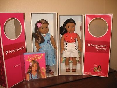 New American Girl Dolls Kanani & Nanea. New. NRFB. Hawaii Theme. New. WOW