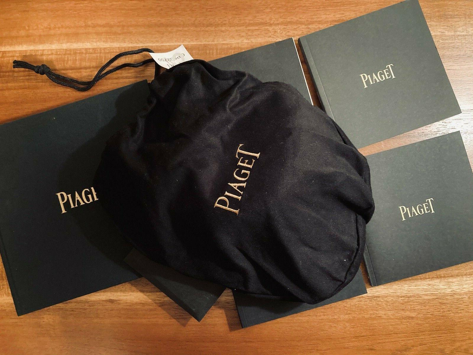 New Genuine Piaget Catalog Baseball cap hat bag black tie collectibles CD book