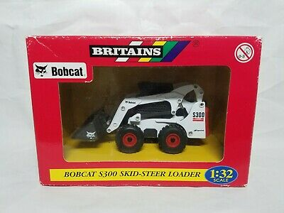 Bobcat S300 Compact Loader Britains 42100-1HB Diecast 1:32 Scale Model NIB