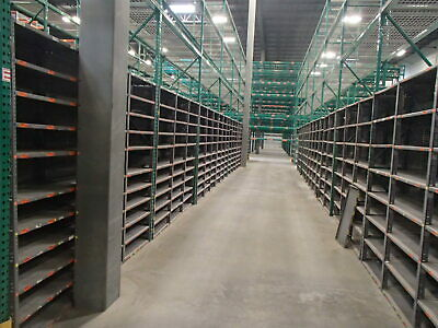 Borroughs 24 X 36 X 87 Steel Clip Style Shelving Units W 6shelves