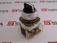 Allen-Bradley 800T-J2KE7 3-Position Selector Switch w/ 800T-XA Contact Block