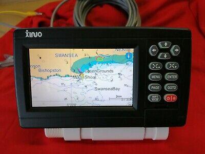 "Marine GPS Chartplotter 5"" UK / Western Europe Canaries Global Detailed Charts"