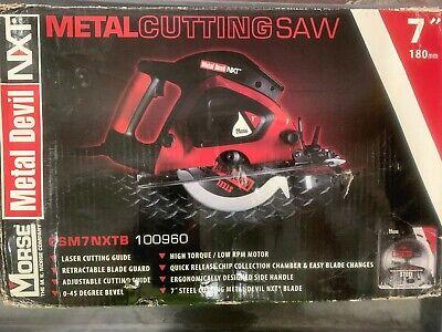 Morse 7 Metal-cutting Circular Saw - Csm7nxtb