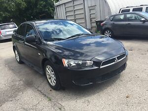 2012 Mitsubishi Lancer SE Sedan ALLOYS SUNROOF CERTIFIED