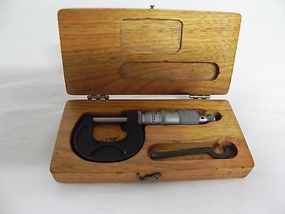 Scherr Tumico 0-1 Micrometer Lotst9966