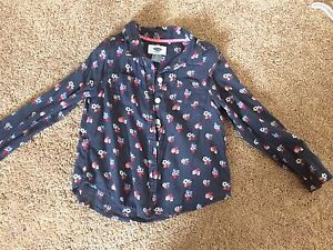 Kids clothes size 3-4Т, shirts $ 7, jeans $15, with leopard $10