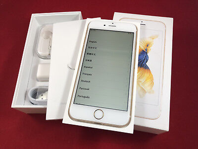 NEW Apple iPhone 6S 128GB Gold White Unlocked A1633 GSM in Box AT&T T-Mobile