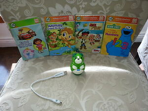 Leap frog tag reader and 3 books