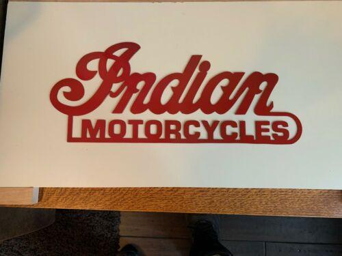 Indian Motorcycles Metal Wall Art