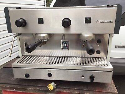 Faema 2 Group Espresso Cappuccino Machine 220v