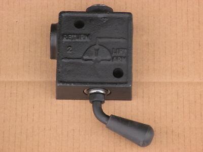 Hydraulic 3-way Selector Valve For Massey Ferguson Mf 230 235 240 245 255 265
