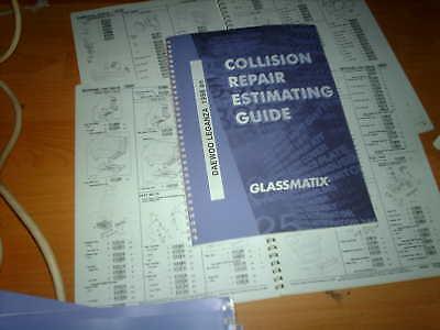 OEM part number guide Daewoo Leganza 1998 on