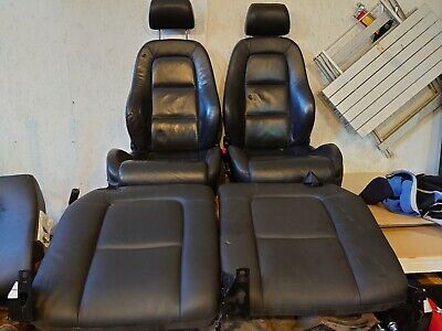 Mk1 Audi TT Black Leather Seats front and rear