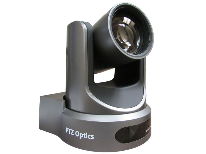 Ptzoptics Pt12x-ndi-gy 12x Optical Zoom Ndi/3g-sdi/hdmi/cvbs/ip Stream Cam/gray