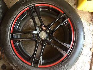 "Mags 18"" RTX APEX , rims, wheels,tires 235 50 ZR18, 255 45 ZR18"