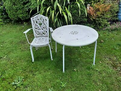 Garden Table And 3 X Chairs