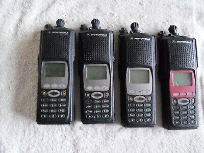 Lot Of Four Motorola Xts5000 P25 9600 Portable Radio