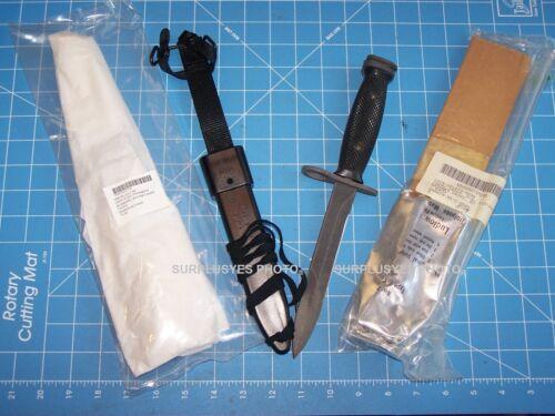 Knife M7Bayonet GENCUT NOS & M10 Scabbard USA Military USMC Vintage Sealed USGI