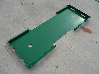 Skid Steer Universal Attachment Blank Plate Weld On John Deere Green